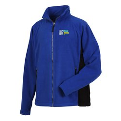 View a larger, more detailed picture of the Katahdin Tek Colorblock Fleece Jacket - Men s - Closeout
