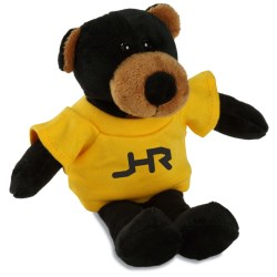 View a larger, more detailed picture of the Mascot Beanie Animal - Black Bear