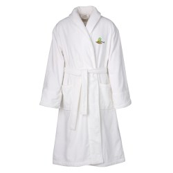 View a larger, more detailed picture of the Shawl Collar Robe - Overstock