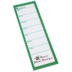 View a larger, more detailed picture of the Bic Magnetic Manager Notepad - Weekly - 25 Sheet