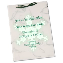 View a larger, more detailed picture of the Seeded Invitation Program - 7 x 5 - Wildflower Money