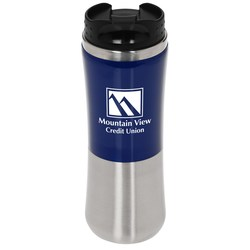 View a larger, more detailed picture of the Laguna Fusion Travel Tumbler - 14 oz