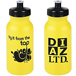 View a larger, more detailed picture of the Try Tap Sport Bottle - 20 oz - Colors