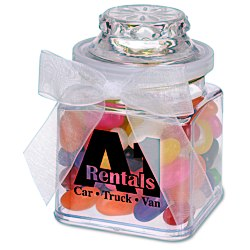 View a larger, more detailed picture of the Plastic Goody Jar - Assorted Jelly Beans