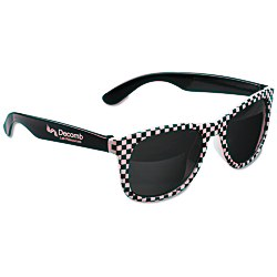 View a larger, more detailed picture of the Checkered Hipster Shades