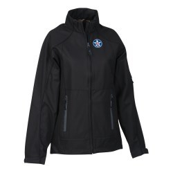 View a larger, more detailed picture of the North End 3-Layer Mid-Length Soft Shell Jacket - Ladies