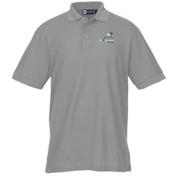View a larger, more detailed picture of the Lightweight Easy Care Pique Polo - Men s