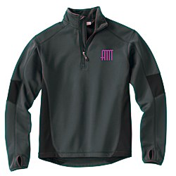View a larger, more detailed picture of the Storm Creek BodyFit Quarter Zip Fleece Pullover - Men s
