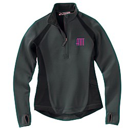 View a larger, more detailed picture of the Storm Creek BodyFit Quarter Zip Fleece Pullover - Ladies