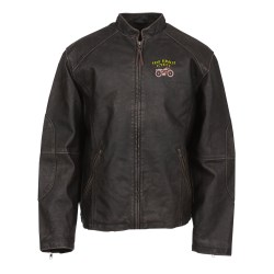 View a larger, more detailed picture of the Burk s Bay Vintage Leather Jacket