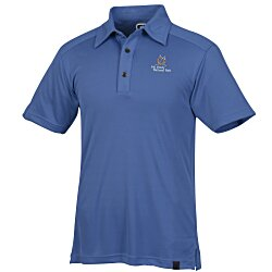 View a larger, more detailed picture of the OGIO Poly Interlock Stay-Cool Polo - Men s