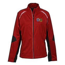 View a larger, more detailed picture of the Dynamo Hybrid Performance Jacket - Ladies