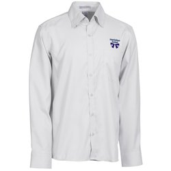 View a larger, more detailed picture of the Wrinkle-Free Cotton Stripe Jacquard Shirt - Men s