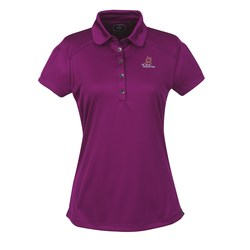 View a larger, more detailed picture of the OGIO Poly Interlock Stay-Cool Polo - Ladies