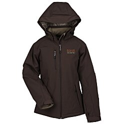 View a larger, more detailed picture of the North End Insulated Soft Shell Hooded Jacket - Ladies