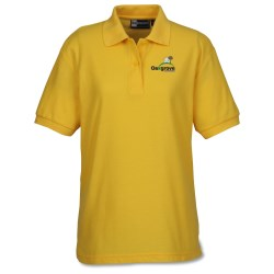View a larger, more detailed picture of the Lightweight Easy Care Pique Polo - Ladies