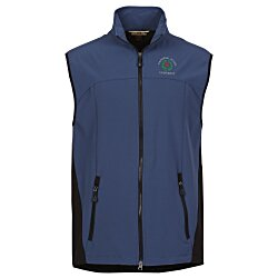 View a larger, more detailed picture of the North End 3-Layer Soft Shell Vest - Men s