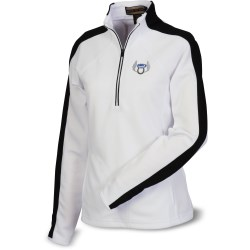 View a larger, more detailed picture of the Half-Zip Athletic Double Knit Pullover - Ladies