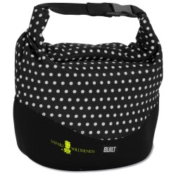 View a larger, more detailed picture of the BUILT Rolltop Lunch Bag - Mini Dot - Closeout