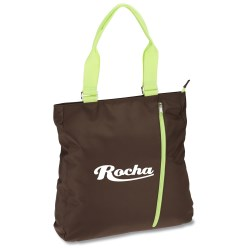 View a larger, more detailed picture of the Chocolate Tote - Closeout