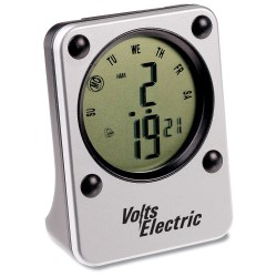 View a larger, more detailed picture of the Mini Travel Alarm Clock - Closeout