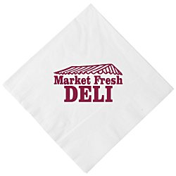 View a larger, more detailed picture of the Luncheon Napkin - 3-ply - White - Low Qty