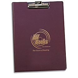 View a larger, more detailed picture of the Hazel Encore Vinyl Folder - with Clip