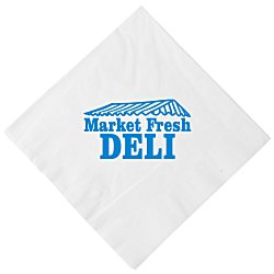 View a larger, more detailed picture of the Luncheon Napkin - 3-ply - White
