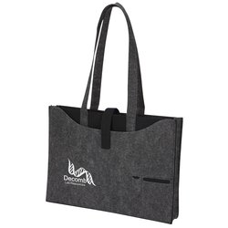 View a larger, more detailed picture of the Owl 100 Recycled PET Felt Business Tote
