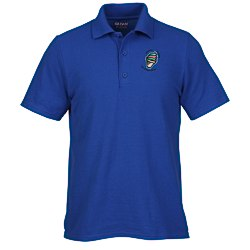 View a larger, more detailed picture of the Gildan DryBlend 50 50 Pique Sport Shirt - Men s