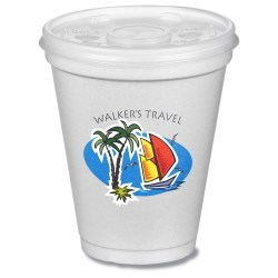 View a larger, more detailed picture of the Foam Cup - 8 oz - Full Color
