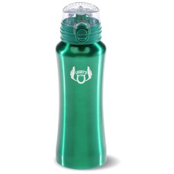 View a larger, more detailed picture of the Stainless Steel Super Sip Bottle - 21 oz - Closeout
