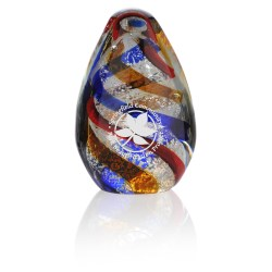View a larger, more detailed picture of the Spiral Art Glass Award