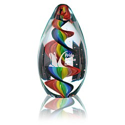 View a larger, more detailed picture of the Kaleidoscopic Art Glass Award