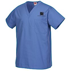 View a larger, more detailed picture of the Cornerstone Reversible V-Neck Scrub Top - Screen