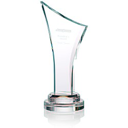 View a larger, more detailed picture of the Victory Crystal Award