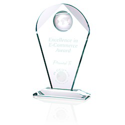 View a larger, more detailed picture of the Global Excellence Crystal Award - 10