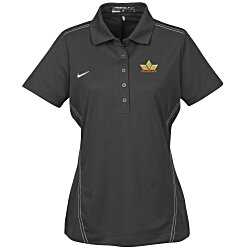 View a larger, more detailed picture of the Nike Performance Stitch Accent Pique Polo - Ladies