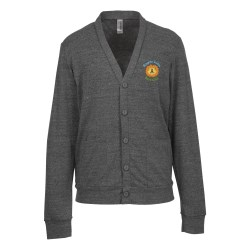View a larger, more detailed picture of the Canvas Unisex Tri-Blend Cardigan