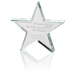 View a larger, more detailed picture of the Star Crystal Award - 4