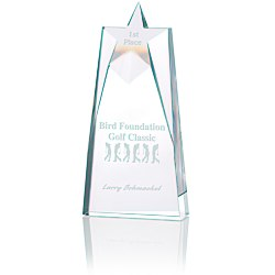 View a larger, more detailed picture of the Shooting Star Crystal Award - 10