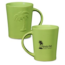 View a larger, more detailed picture of the Palms Ceramic Mug - 12 oz