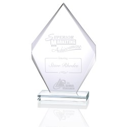 View a larger, more detailed picture of the Inspire Starfire Glass Award - 12