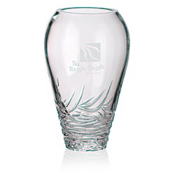 View a larger, more detailed picture of the Saratoga Lead Crystal Vase