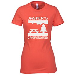 View a larger, more detailed picture of the Bella Favorite Tee - Ladies