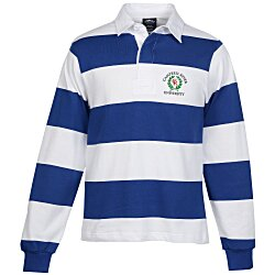 View a larger, more detailed picture of the Classic Rugby Long Sleeve Sport Shirt