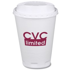 View a larger, more detailed picture of the Trophy Hot Cold Cups w Traveler Lid - 12 oz