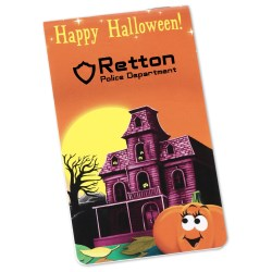 View a larger, more detailed picture of the Full Color Memo Book - Haunted House