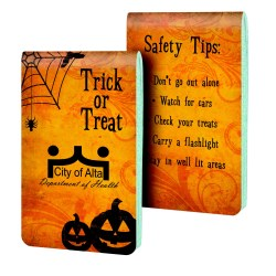View a larger, more detailed picture of the Full Color Memo Book - Trick or Treat