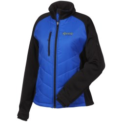 View a larger, more detailed picture of the Epic Insulated Hybrid Jacket - Ladies